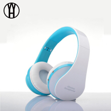 WH NX-8252 Wireless Bluetooth Headphone Foldable Super Stereo Bass earphone music earbud Portable Headset for iphone smart phone