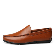Jantens New Men Driving Shoes Fashion Designer Slip on Men Handmade Moccasins Shoes