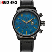CURREN Men Business Watches Top Luxury Brand Quartz Watch 8200