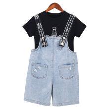 Fashionyy Kid Grils T-shirt  jeans Trousers Clothes Outfits Set