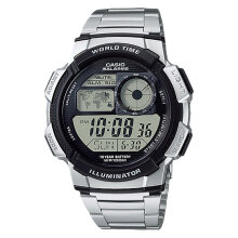 Casio AE-1000WD-1AVDF Stainless Steel Water Resistant 100M [AE-1000WD-1AVDF]