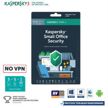 ANTIVIRUS-KASPERSKY SMALL OFFICIE SECURITY 5+5+1 [ORIGINAL 365HARI] Green Others