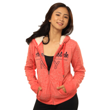 Aeropostale Women's Knit Fleece Fur Hoodie -14ASJ003