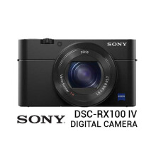 Sony DSC RX100 Mark IV Digital Camera Black