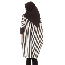 Mybamus Thin Shape Tunic Black White M14276 R69S2