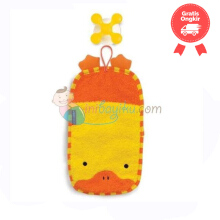 SkipHop Zoo Mitt Duck With Hook Color Orange Yellow