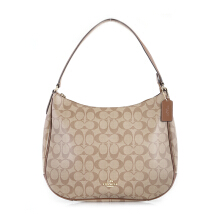 COACH 29209 Signature Zip Hobo Bag (COA01752B) Brown