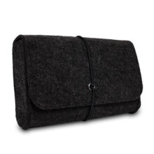VEN powerBag Wool Felt Bag Pouch For Macbook Laptop Adapt And Mouse Charger USB Cable Power Bag Sleeve For