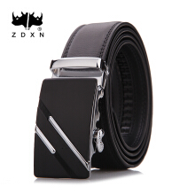 Zdxn men's fashionable leisure belt automatic buckle belt