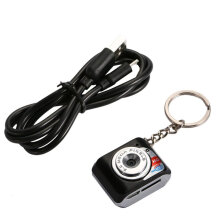 [COZIME] Portable HD 1280*720 Mini Camera  X3 Multifunctional Removable Disc Pc Camera Black
