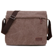 SiYing retro casual fashion canvas large capacity men's shoulder bag