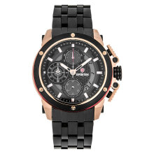 Expedition E 6748 MC BBRBA Man Chronograph Black Dial Black Stainless Steel Strap [EXF-6748-MCBBRBA]