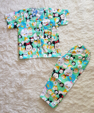 Cottongrass Motif Tsum2 Anak Green