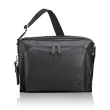 TUMI Harrison Forest Utility Bag - Black Pebbled