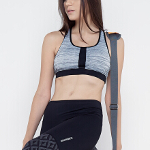 CoreNation Active Allie Bra - Black Grey
