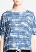 ANTHM STRIPED BOXY TOP