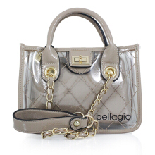 Bellagio Peony-967 Scatola Transparent Shoulder Bag