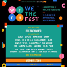 We The Fest 2019 (3 Day Pass - VIB PRESAL)