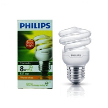 PHILIPS TORNADO 8W WW E27