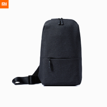 Xiaomi Outdoor Travel Crossbody Messenger Chest Bag Light Grey