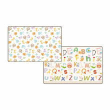PARKLON PE Roll Jungle + Alphabet (200 x 150 x 1.5 cm)
