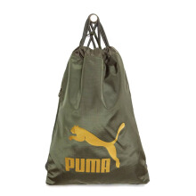PUMA Originals Gym Sack - Forest Night-Gold [One Size] 7481210
