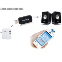 USB Bluetooth 3.5mm Stereo Music Audio Receiver Adapter