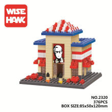 Bricks Wise Hawk 2320 Kfc Red