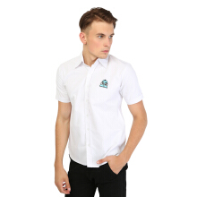 MONSTURO White Shirt for Men + Patch
