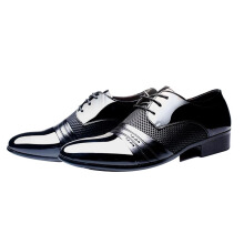 SiYing Wild business dress black men's leather shoes