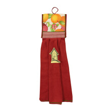 ARNOLD CARDEN Double Hand Towel Sweet Apple - Red