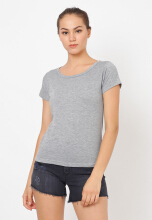 Shop at Banana O Top 13 Grey All Size