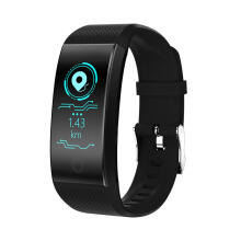 PEKY QW18 Smart Band Heart Rate Monitor Color Screen 4.0 Sports Wristband IP68 Waterproof Fitness Bracelet For Android iOS