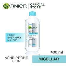GARNIER Micellar Cleansing Water For Oily, Acne-Prone Skin 400ml