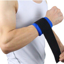 SBART 2pcs Adjustable Wristband Wrist Brace Wrap Bandage Support Band Gym Strap Wrist Protector