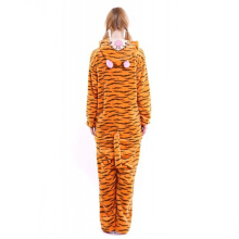 Anamode Flannel Cartoon Animal Siamese Pajamas Winter Long-sleeved Home Clothes-Tigger -