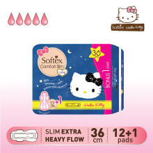 SOFTEX Hello Kitty Comfort Slim 36cm 12s