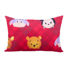 KENDRA (SB) Cushion Tsum Tsum Small Pooh and Mickey 30x45cm - Red