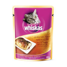 WHISKAS 85 gr adult grilled saba flavor
