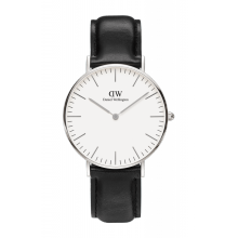 Daniel Wellington Classic Sheffield 36mm Silver Case