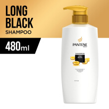 PANTENE Shampoo Long Black 480ml