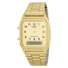 Casio AQ-230GA-9BMQ Stainless Steel Watch [AQ-230GA-9BMQ]