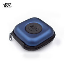Knowledge Zenith KZ PU Case Bag Earphone Headset Storage Pouch - Blue