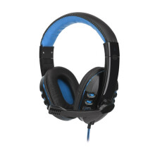 BESSKY Stereo Gaming Headset Headband Headphone USB 3.5mm LED with Mic for PC_
