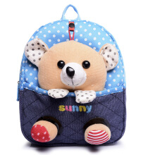 BANGLONG Kids Plush Animal Shoulder Bags Cartoon Doll Backpacks -Onesize -