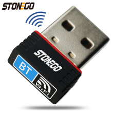 STONEGO 2-in-1 Wi-Fi & Bluetooth 4.0 Nano USB Adapter, Wireless Network Adapter & BT Transmitter Receiver for Desktop/Laptop/PC