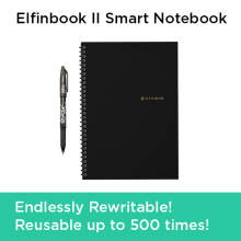ELFINBOOK 2.0 Everlast Smart Reusable Notebook