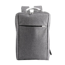 [COZIME] Fashion Business Backpack College Bag For Teenage Anti-Theft Travel School Bag Grey