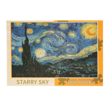 1000pcs Starry Sky Puzzle DIY Landscape Paper Jigsaw Puzzle Educational Toys