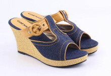 WEDGES CASUAL WANITA - AY 564
